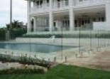 Frameless glass Marshalls Fencing and Welding
