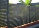 Slat fencing Marshalls Fencing and Welding